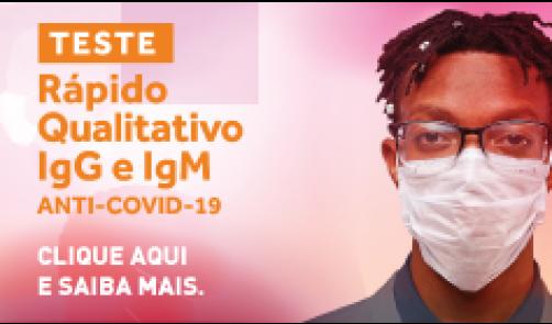 TESTE RÁPIDO SOROLOGICO PARA COVID-19 - IgG e IgM